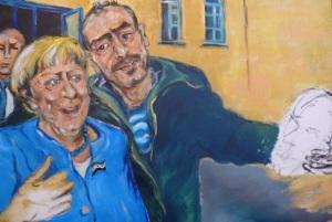 Gastgeschenk Merkel