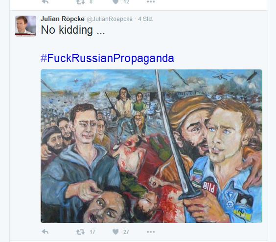 Ich fühle mich nicht als Russe