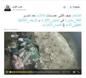 Lattakia Faylag al Sham gleiche Massaker