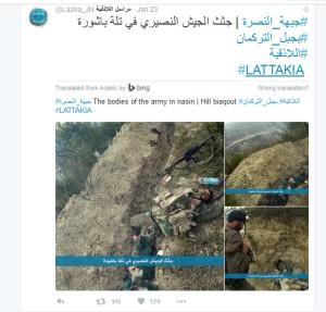 lattakia Jabhat al Nusra Faylag al Sham