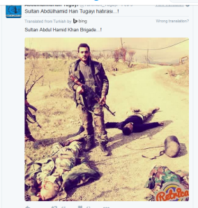 Abdull hamid mörderbanden mit opfer