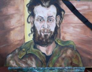 Dhuhur gemalt portrait1P1090502