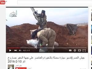 jaish al Nasr vollgefressen mit US raketen