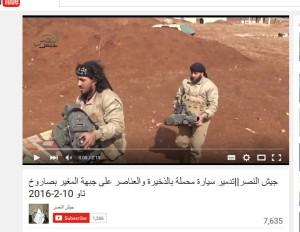 Jaish al nasr vollgefressene TOW-terroristen