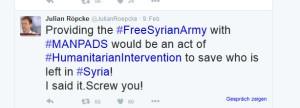 Man pads für FSA-Terroristen