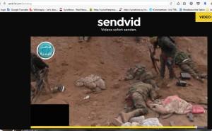 sendvidoe Kriegsverbrecher mordvideo