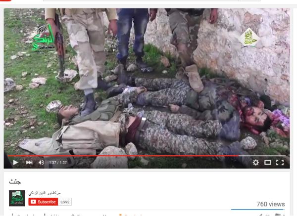 Zanki Terroristen mit Nusra
