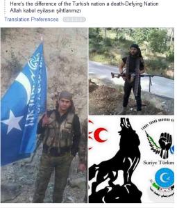 Türkische Graue Wölfe faschisten