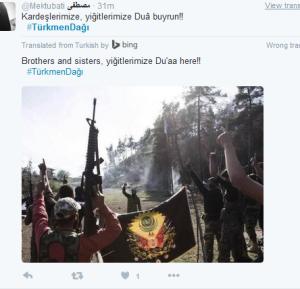Türkische terroristen in Syrien