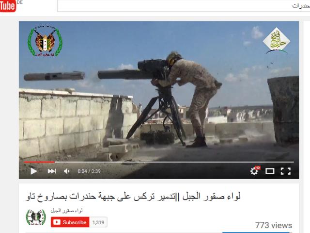 Al-Kaidaröckchen und TOW