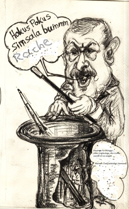 Grossmaul und seine rachegedanken