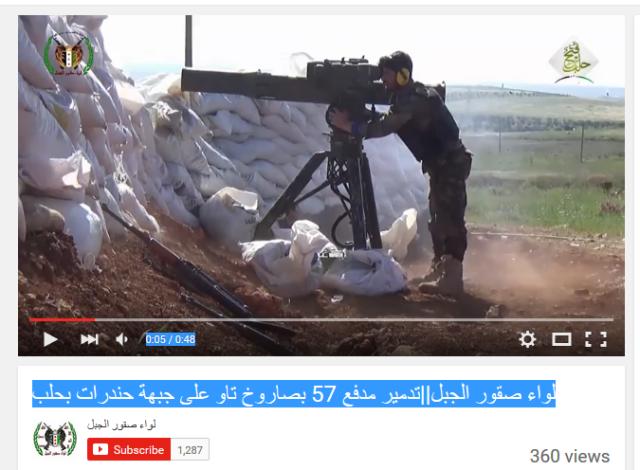 HandaratCamp Al-KaidaFSA Aleppo fatah