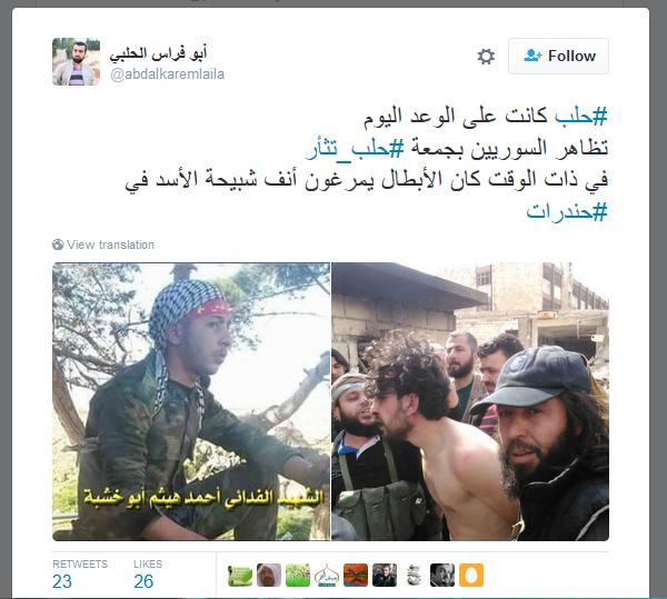 Omar al Sory Folterpropagandist