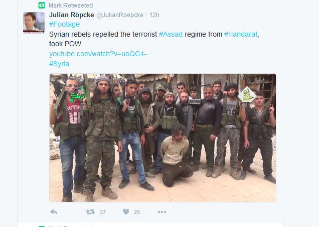 Röpcke ekelhafter Terroristenunterstützer