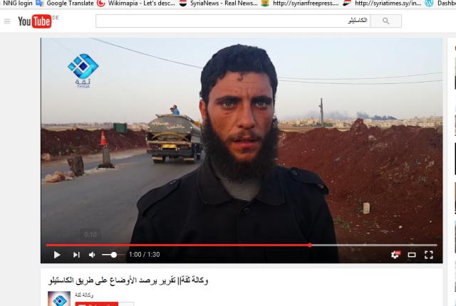 Al-kaida-terroristen Autobahn checkpoint