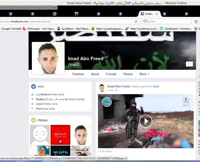 Imad FB Seite