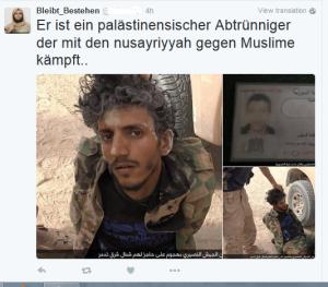 ISIS befreit Palästinenser