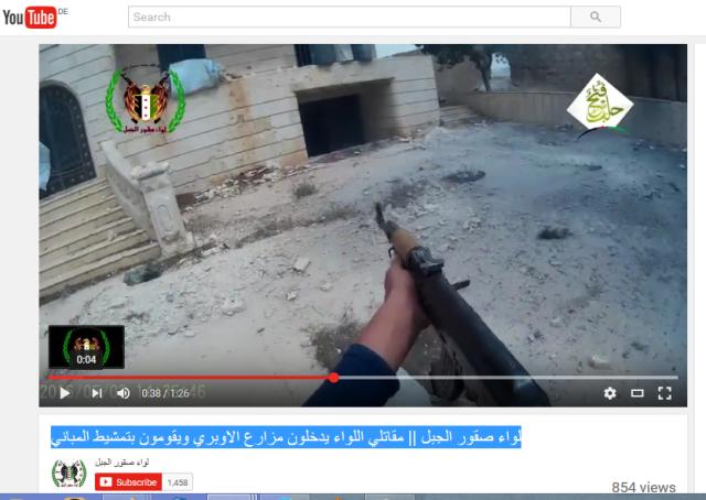 Kinderhände jabhat al Nusra