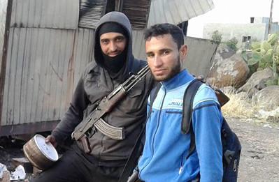 Mörder Imad Ausschnitt