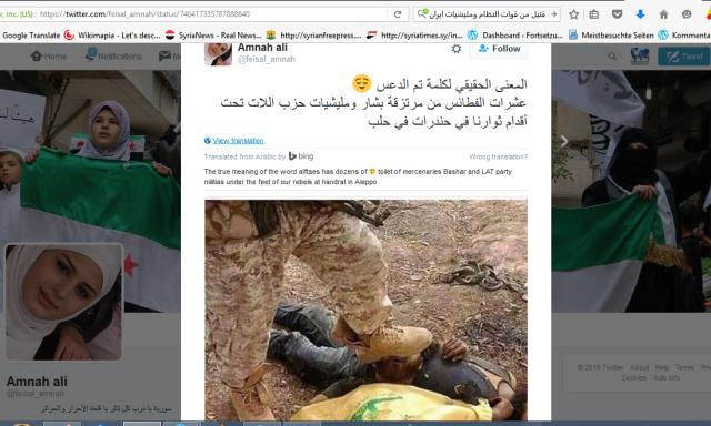 Geistig arme FSA-Unterstützer...