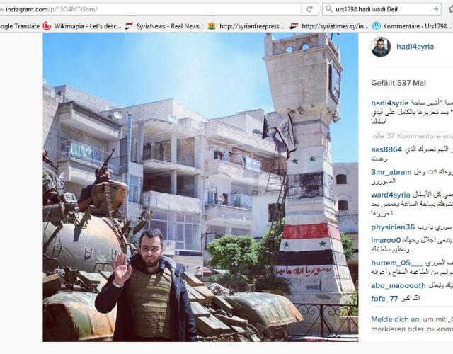 hadi Syria Jisr as Shughur