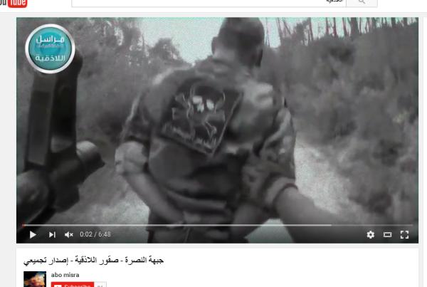 Latakia Berge ermordeter Gefangener