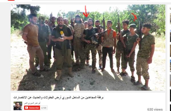 Latakia Kindersoldaten