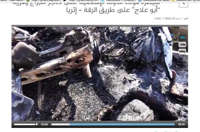 schrecklich verbrannt tabqah