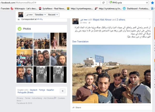 Selfies Al-Kaida und Sprachrohre