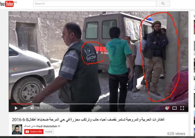 Syria Charity-Weisshelme und Al-kaida