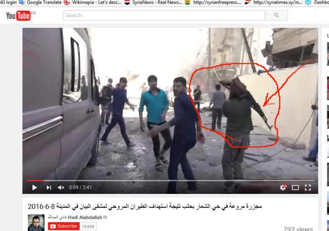 Terrorist in hadi Filmchen