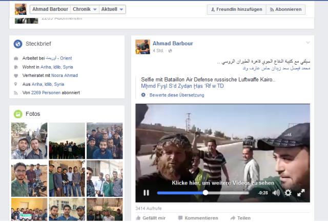 Ahmad Barbour Al-Kaida und Jund al Aqsa Freund