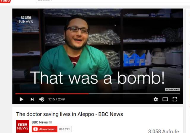 das war eine Bombe