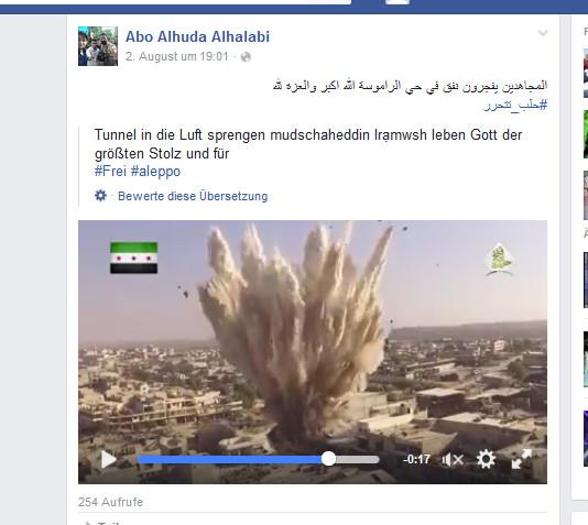 HRW Tunnelbombe wird zur Barrelbombe
