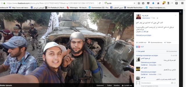 Mit Al-Kaida üosierend