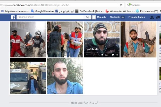 Terroristen Aleppo Ärzte bewaffnete